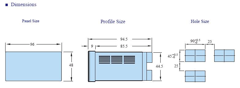 FA INFO 4 - فرکانس متر و دورسنج توکی Toky مدل FA8-RB10
