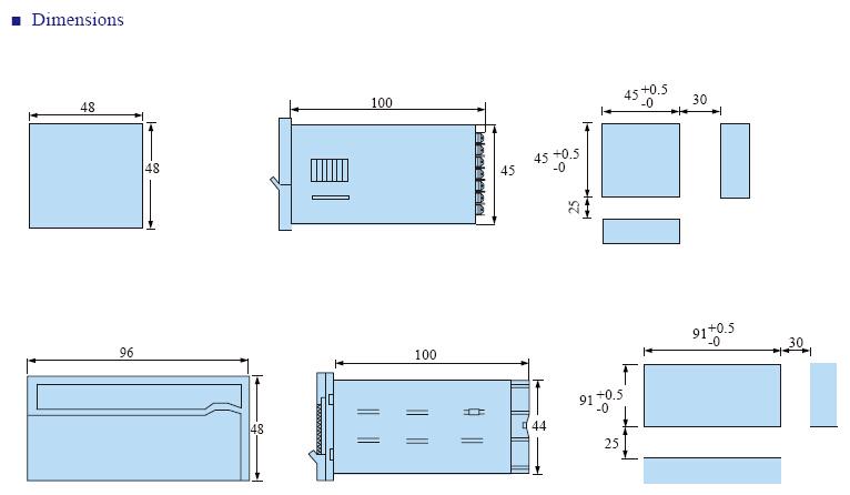 FM INFO 3 - فرکانس متر و دورسنج توکی Toky مدل FM8-RC10B