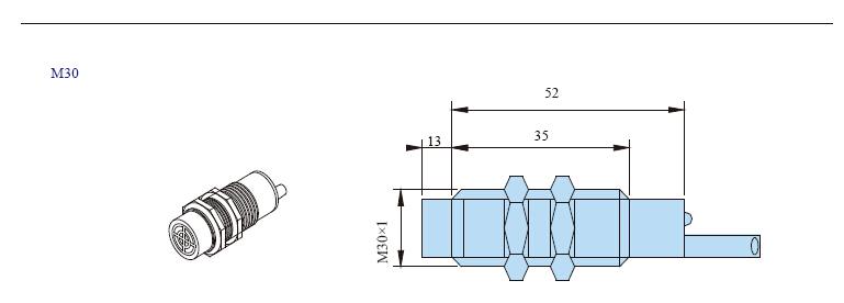 TC INFO 5 - سنسور خازنی توکی Toky مدل TC-18Y8C