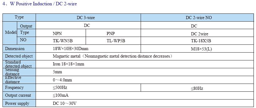 TL INFO 6 - سنسور القایی توکی Toky مدل TL-EN5B