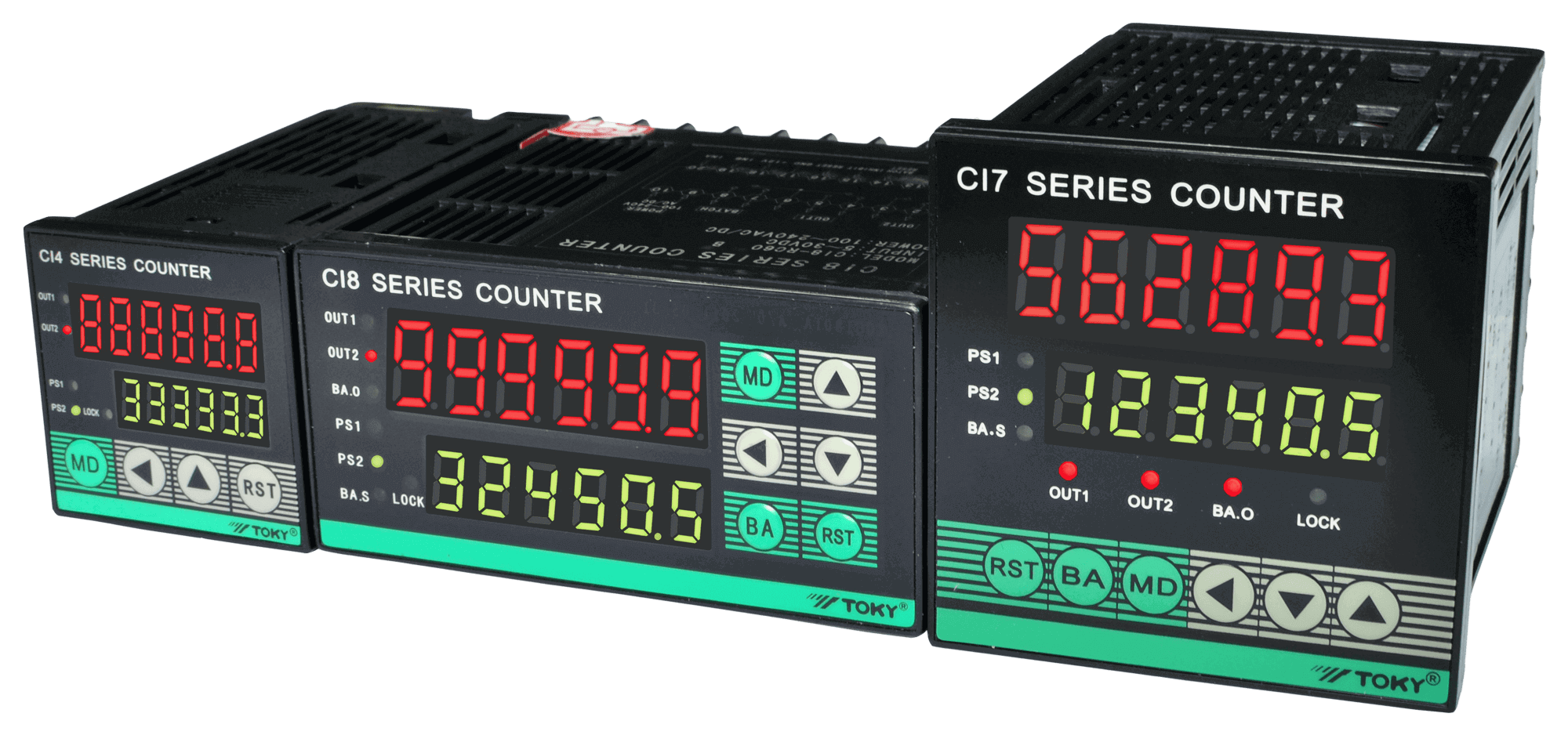 Toky Digital Counter Meter CI Series