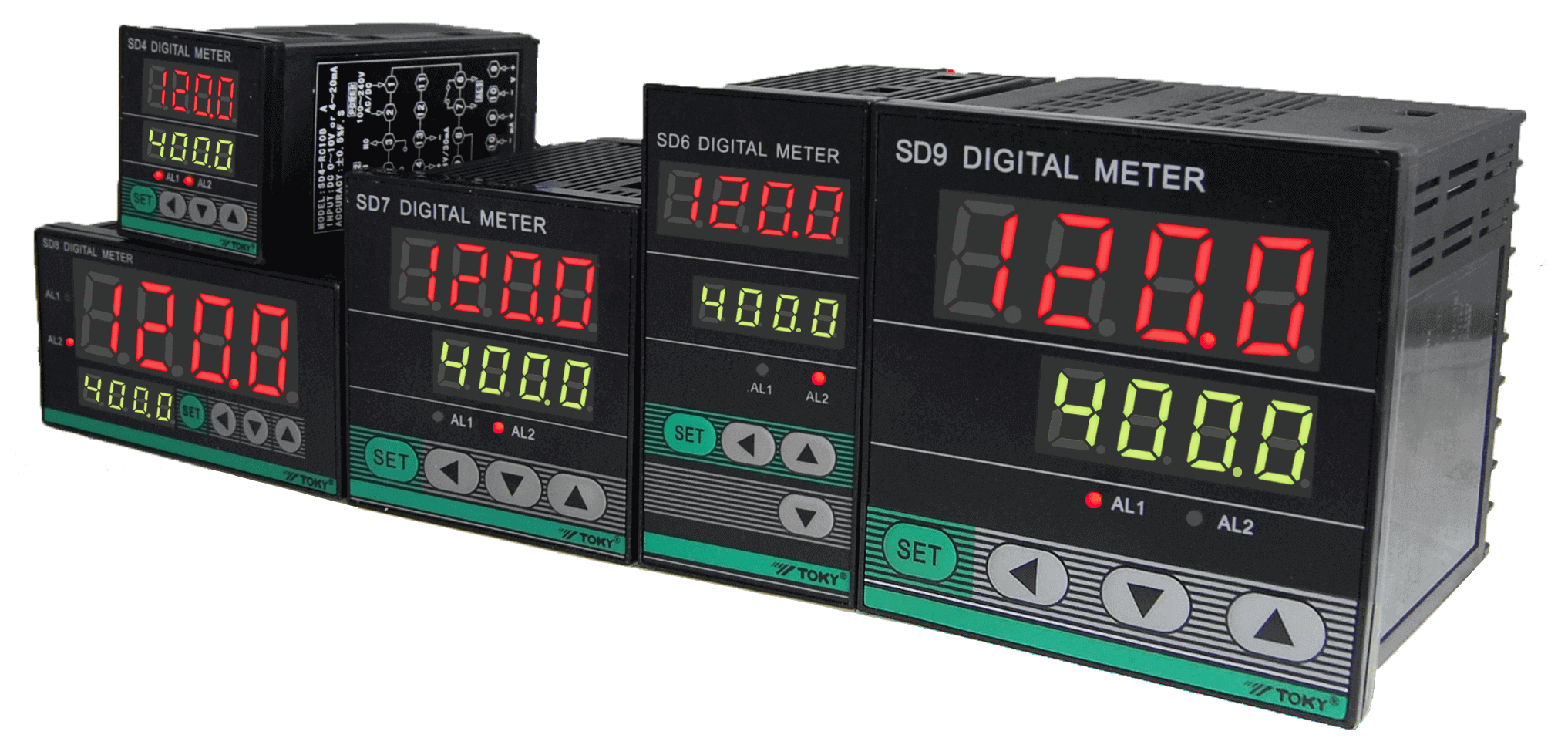 Toky Multi Panel Meter SD Series